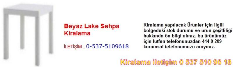 beyaz lake sehpa kiralama Resim No ; 19