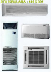 kiralık klima model ve çeşitleri