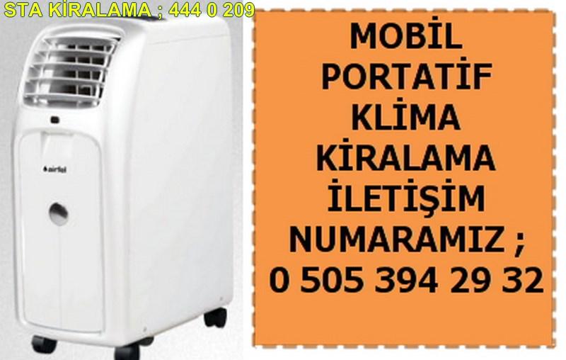 kiralık mobil klima