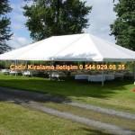 kiralama çadır çeşitleri Çadırcı İletişim ; 0 544 929 08 35