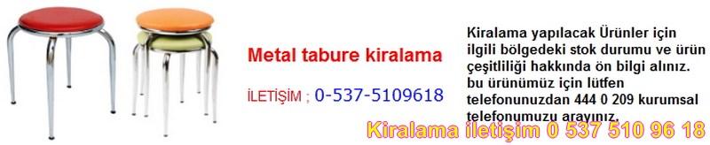 metal tabure kiralama Resim No ; 78