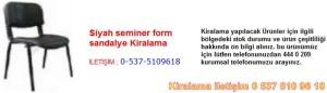siyah seminer form sandalye kiralama Resim No ; 111